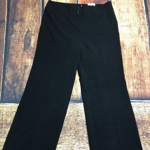 Style & Co Wide Leg Black Dress Pant